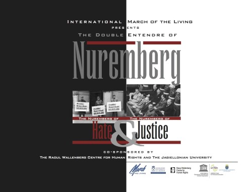 Nuremberg Symposium: A Study in the Law of Hate